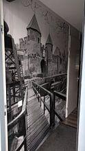 Klantfoto: Historisch Amersfoort 09, Koppelpoort van Rien Gieltjes, als behang