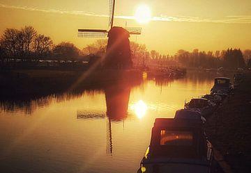 Zonsopkomst in Oudorp sur Niels Krommenhoek
