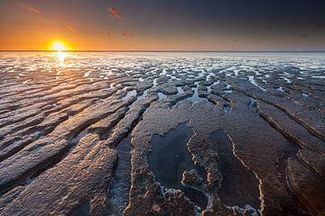 Mudflat sunset von Ron Buist