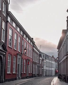 Straat in Bergen op Zoom von Kim de Been