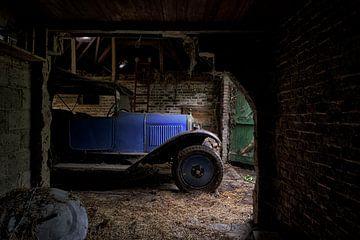 Klassieke auto van Marius Mergelsberg