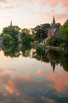 Minnewaterpark, Brugge van Martijn Mureau