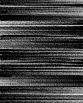 Zwart 1 van Lida Bruinen