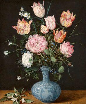 Blumen in einer Wan-Li-Vase, Jan Brueghel der Ältere