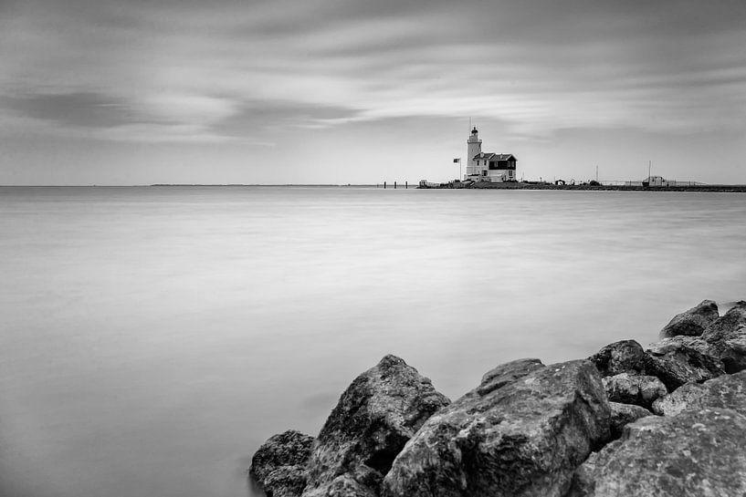 Lighthouse Horse of Marken sur Menno Schaefer