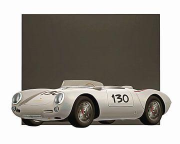 Oldtimer – Porsche 550A Spyder 1956 von Jan Keteleer