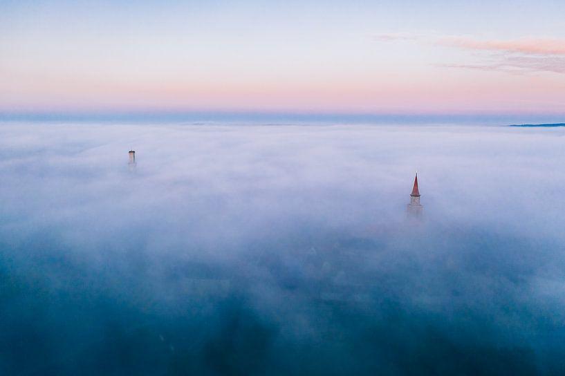 Fürth im  Nebel von Faszination Fürth