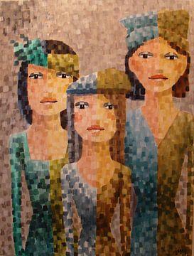 Three sisters sur Janny Heinsman