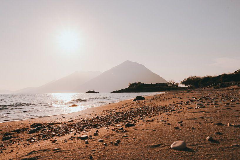 Grieks strand van Jessie Jansen