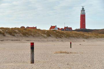 Eierland Leuchtturm, Texel von Ad Jekel