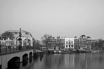 Magere Brug in Amsterdam von Barbara Brolsma
