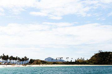 Nacpan-Strand auf den Philippinen von Yvette Baur
