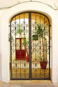 Italienische Terrasse Apulien von Inge Hogenbijl