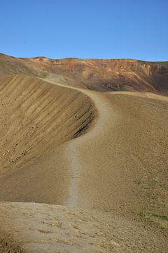 Isländische Wüste von Elisa in Iceland