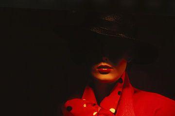 Lady in red van Harry Hadders