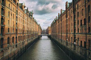 Speicherstadt, Hamburg van Martijn Mureau