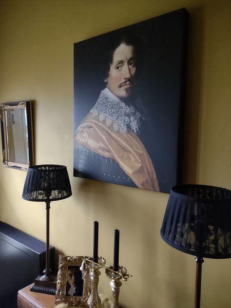 Photo de nos clients: Portret van een officier, Wybrand de Geest (I)