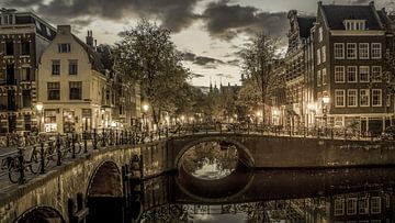 Amsterdam op zijn mooist! Vintage stijl sur Dirk van Egmond