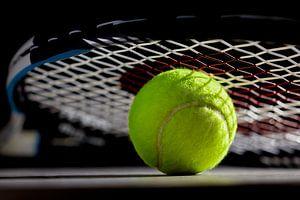 Tennisbal van Gert Mostmans