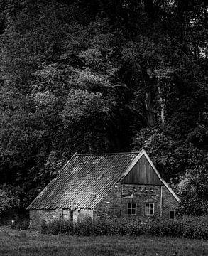 Huisje aan bosrand