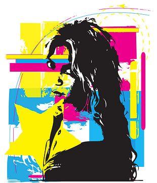 Shakira sur Nina Janssen