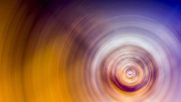 Concentrische cirkels van Günter Albers