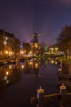Museummolen de Valk in Leiden van Richard Steenvoorden
