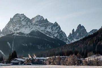 Sfeervol Italiaans landschap met Dolomieten van Hidde Hageman