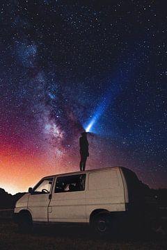 Nachtelijke hemel van Celine Warta