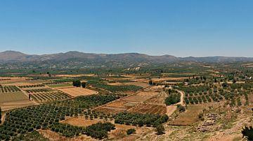 Landschap Kreta van