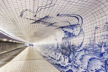 Cuyperspassage fietstunnel sur Dennis van de Water