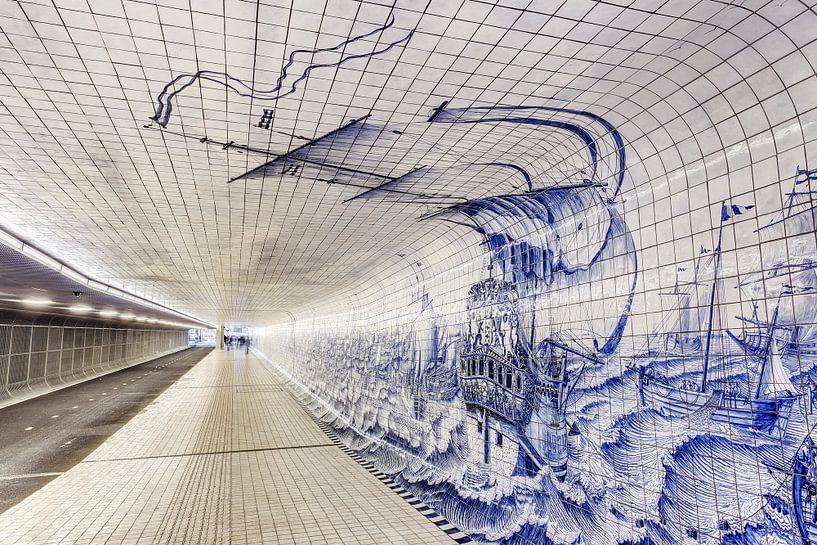 Cuyperspassage fietstunnel van Dennis van de Water