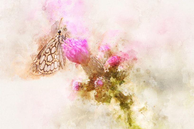 Vlinder 17 van Silvia Creemers