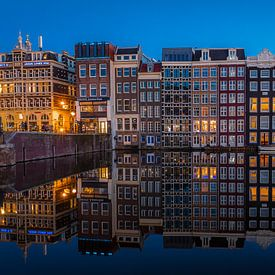 Réflexions sur Damrak II sur Gerard Koster Joenje (Vlieland, Amsterdam & Lelystad in beeld)