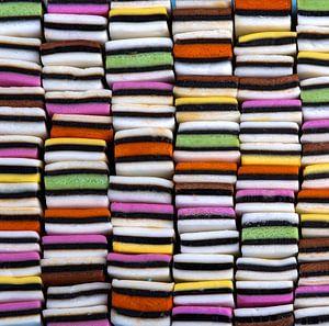 Snoep in allerlei kleuren