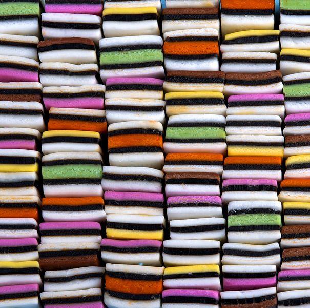Snoep in allerlei kleuren van Sigrid Klop