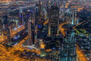 Dubai by night 2 von Peter Korevaar