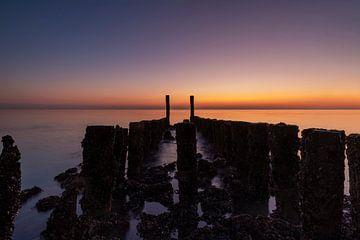 Sonnenuntergang Westkapelle von Midi010 Fotografie