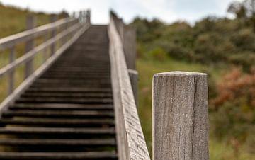 Traversée des dunes sur Walcheren sur Percy's fotografie