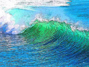 Vague | Art de la vague sur Dirk H. Wendt