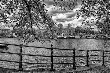 Die Eremitage in Amsterdam (schwarz-weiß) von Don Fonzarelli
