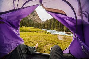 Tent Views sur Reinier van Oorsouw