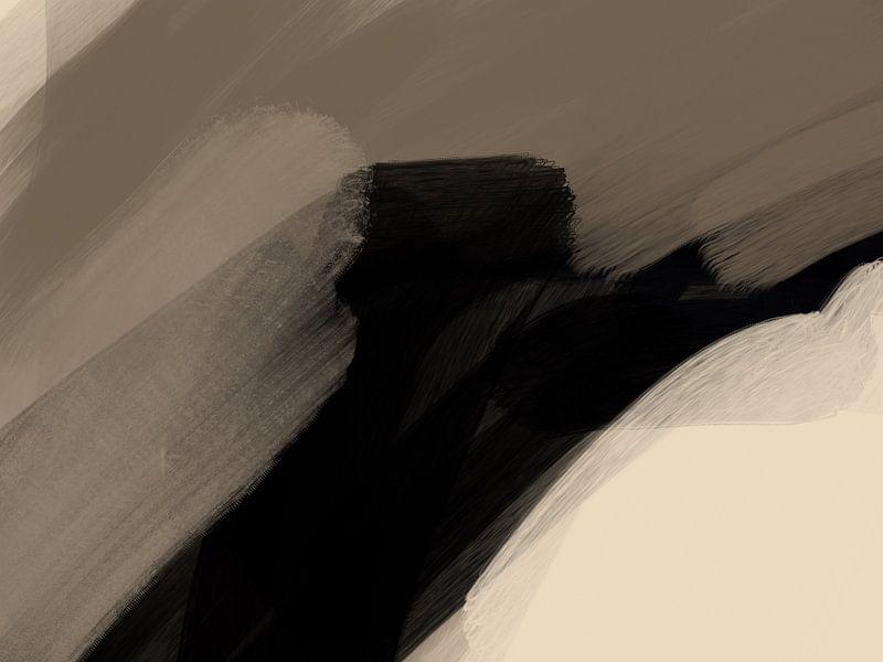 Modern Abstract - tempestas van YOPIE illustraties