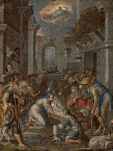 Aanbidding van de herders, Lavinia Fontein