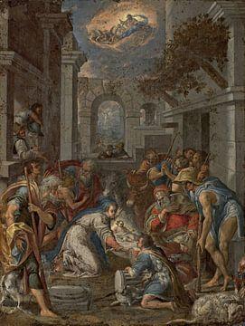 Aanbidding van de herders, Lavinia Fontein van
