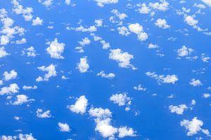 Wolken boven de oceaan