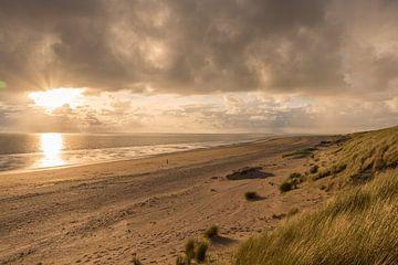 Strand in Rockanje in Nederland van Remco-Daniël Gielen Photography