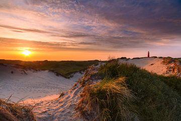 Sonnenuntergang Schiermonnikoog von Mark Scheper