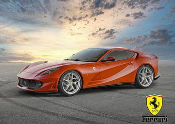 Ferrari 812 Superschnell von Gert Hilbink