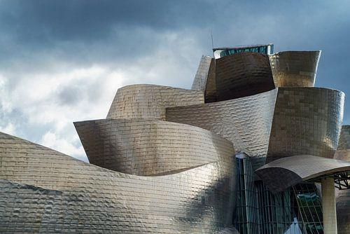 Guggenheim museum Bilboa 4 van Ronald Tilleman